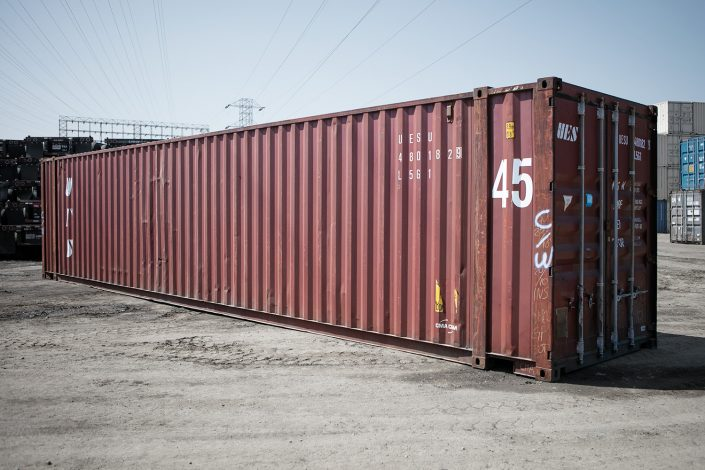 45 foot shipping container - storage quality