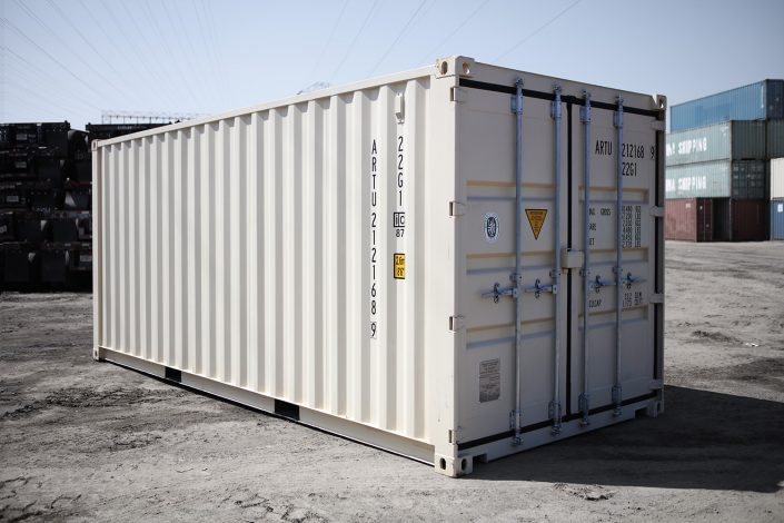 20 foot shipping container - high cube - one-trip