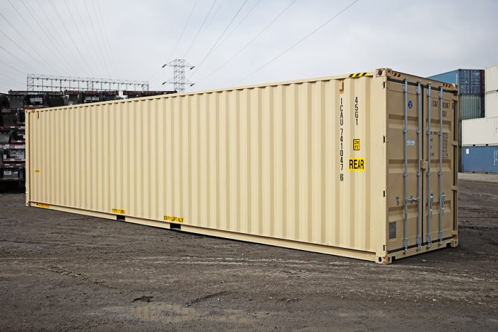40 foot shipping container - high cube - one-trip