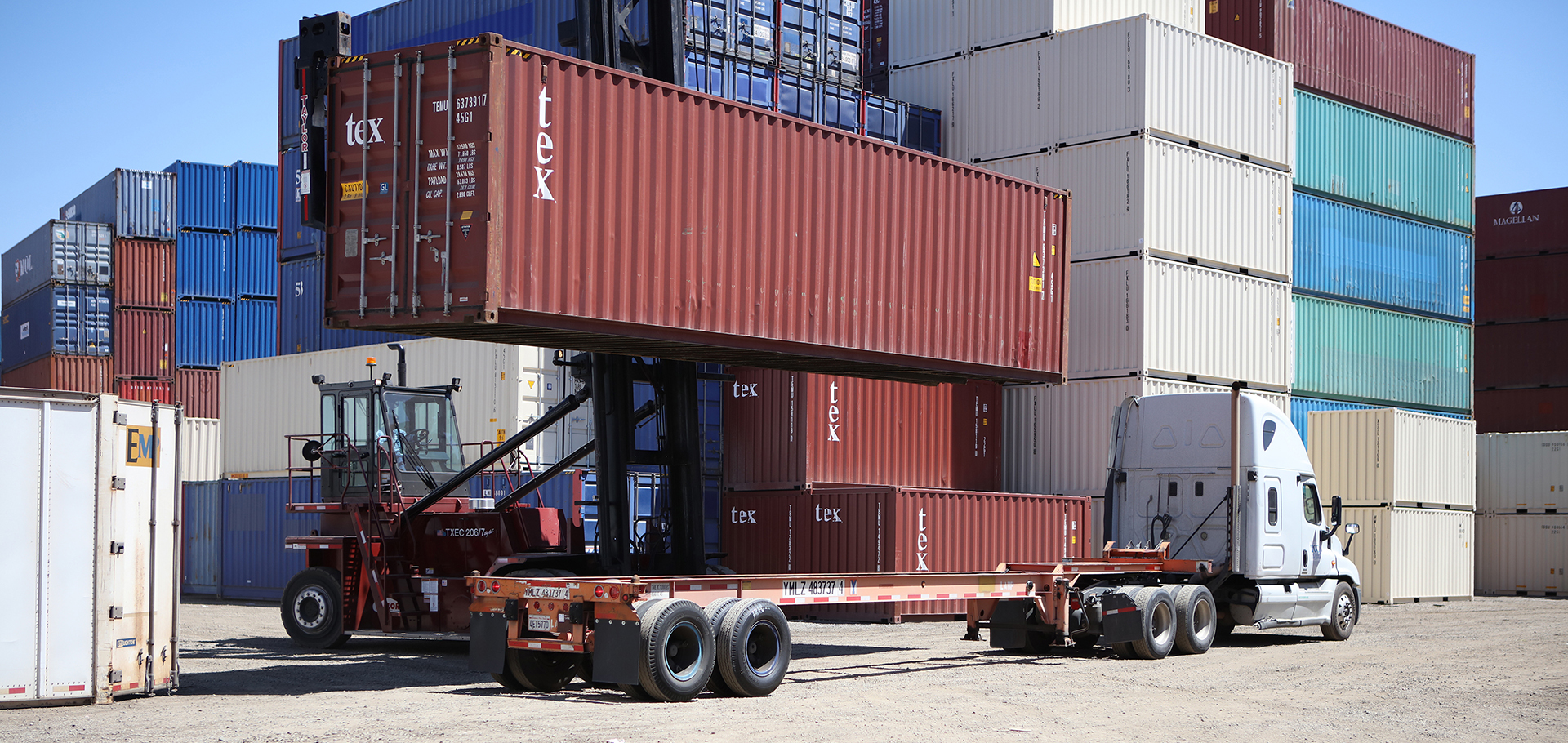Shipping Container Sales and Yard Services